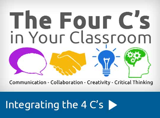 The 4 C's of Technology Integration - Learning Portfolio